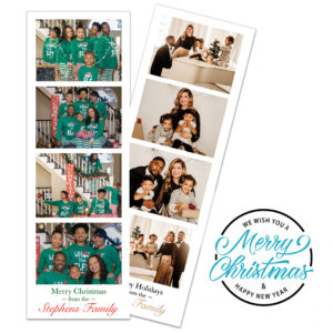 Holiday Photo Booth Magnet